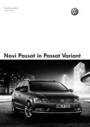 volkswagen passat - tehnični podatki - Avto.info
