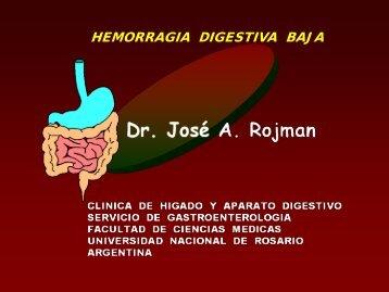 Hemorragia digestiva baja. - Asociación de Gastroenterología y ...