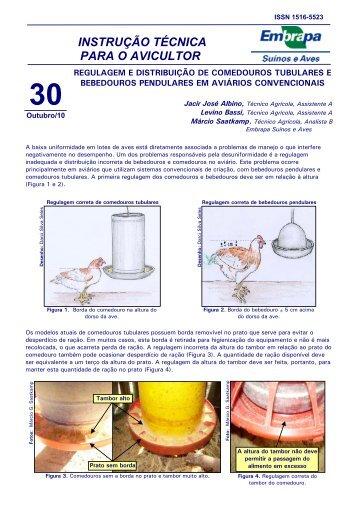 instrução técnica para o avicultor 30 - Embrapa Suínos e Aves
