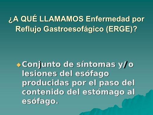 enfermedad por reflujo gastroesofagico causas