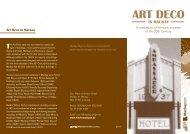 Art Deco in Mackay - Mackay Regional Council