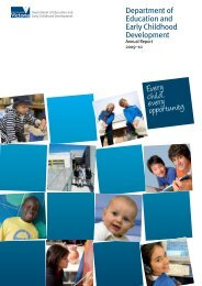 Department of Education and Early Childhood Development (PDF