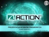 spółki gk action i projekty e-commerce sferis wi ... - Action S.A.
