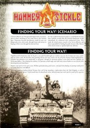 Finding Your Way! - Flames of War