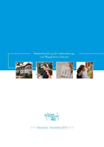 Weiterentwicklung der Heilerziehungs- und ... - Stiftung Scheuern