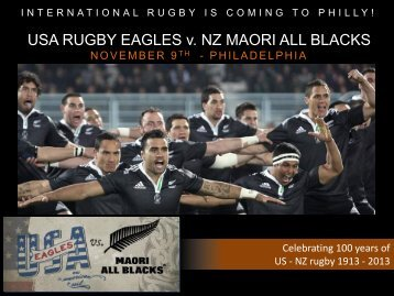 USA-NZ Sponsor Packages - Rugby Pennsylvania