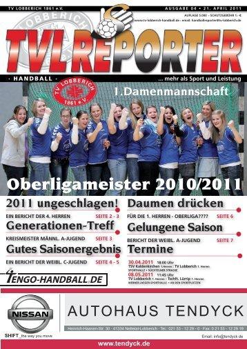 Ausgabe 04/2011 - TV Lobberich