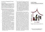 Druckvorlage-07122009-eine Schule fuer alle - EINE Schule für ALLE