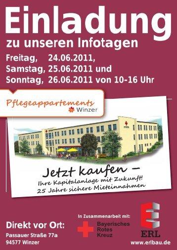 Einladung zu unseren Infotagen Direkt vor Ort: Passauer Straße 77a ...