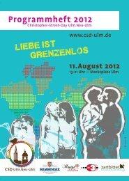 06.10.2012 Travestie - Show mit Piggy und Gene aus ... - CSD Ulm