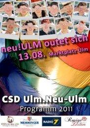 Öffnungszeiten - CSD Ulm