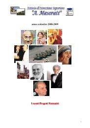 progetti POF - Istituto Istruzione Superiore Maserati