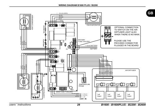 Wiring Diagram B1600 Gb