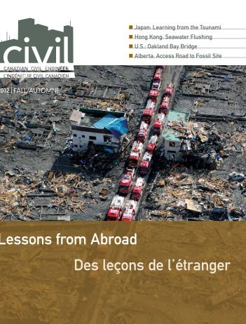 2012 Fall issue vol 29.4 - CSCE • Canadian Society for Civil ...