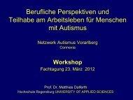 (Allgemeiner Arbeitsmarkt) 2. Geschützte Tätigkeit - Connexia