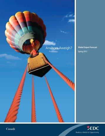 Global Export Forecast - Spring 2012 - Executive Summary ... - EDC