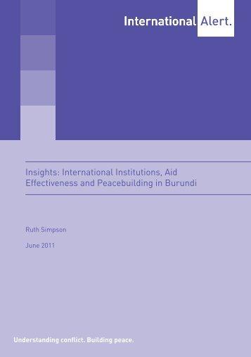 Full report - International Alert