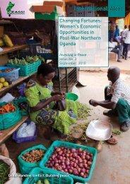 Changing Fortunes: Women's Economic ... - Peace Women