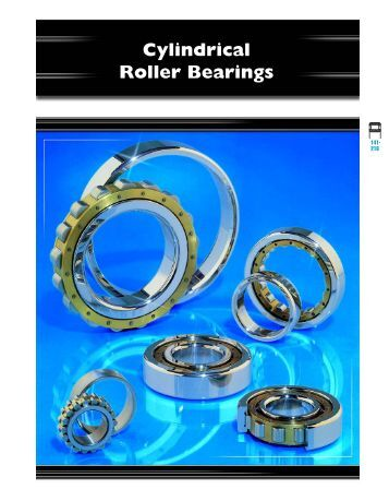 Cylindrical Roller Bearings - CONSOLIDATED BEARINGS ...