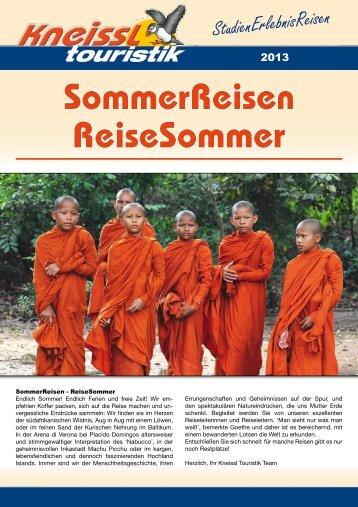 StudienErlebnisReisen - Kneissl Touristik