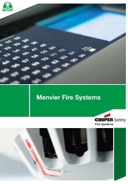 Menvier Fire Systems - Cooper Fire