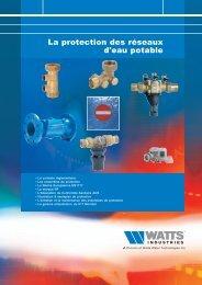 La protection des réseaux d'eau potable - Watts Industries