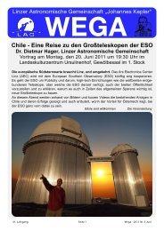 WEGA Juni 2011 - Linzer Astronomische Gemeinschaft