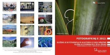 Katalog Fotografkinje 2012. - photori