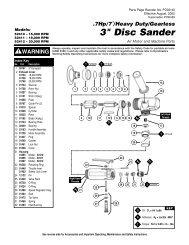 PD02-40/52410-Disc Sander - Dynabrade Inc.