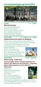 Wildpark Aktionsprogramm 2014 - Ludwigshafen - Seite 4