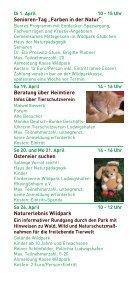 Wildpark Aktionsprogramm 2014 - Ludwigshafen - Seite 5