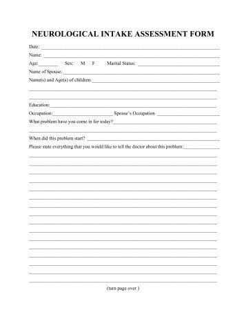 Health Assessment Form-Female (PDF) - DuPage Neurology ...