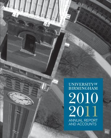 Year Ended 2011 - University of Birmingham