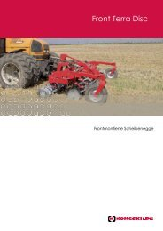 kongskilde front terra disc - Meier Maschinen AG