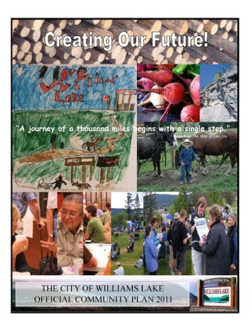 Creating Our Future: City of Williams Lake Official Community Plan