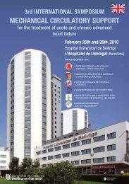 3rd INTERNATIONAL SYMPOSIUM MECHANICAL CIRCULATORY