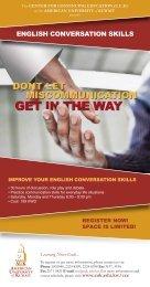 ENGLISH CONVERSATION SKILLS - AUK