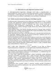 1.2 Kötött mikrorészecskék állapotának kvantitatív leírása A ...