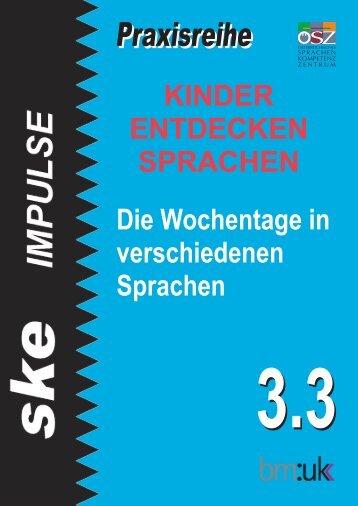 Praxisreihe - Österreichisches-Sprachen-Kompetenz-Zentrum