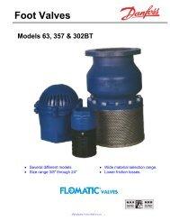 Foot Valves - Flomatic Corporation