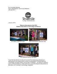 Full Story - Trussville City Schools