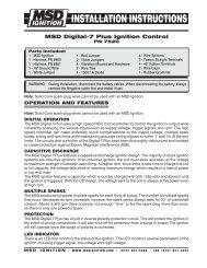 MSD Digital-7 Plus Ignition Control