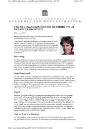 Press release (Dutch) - Hubrecht Institute