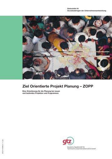 Ziel Orientierte Projekt Planung – ZOPP - Gtz