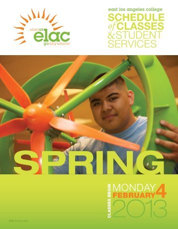 Spring 2013 - East Los Angeles College