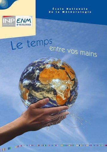 plaquette en français - Ecole Nationale de la Météorologie - Météo ...