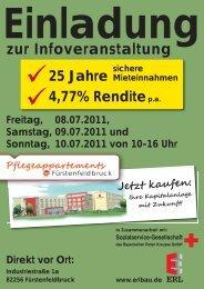 Freitag, 08.07.2011, Samstag, 09.07.2011 und Sonntag, 10.07.2011 ...