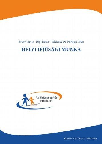 A helyi ifjúsági munka - Országos Széchényi Könyvtár