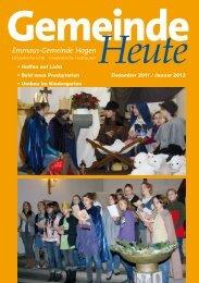 Emmaus-Gemeinde Hagen - Aktuelle Information