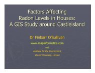 Factors Affecting Radon Levels in Houses: A GIS Study around ...